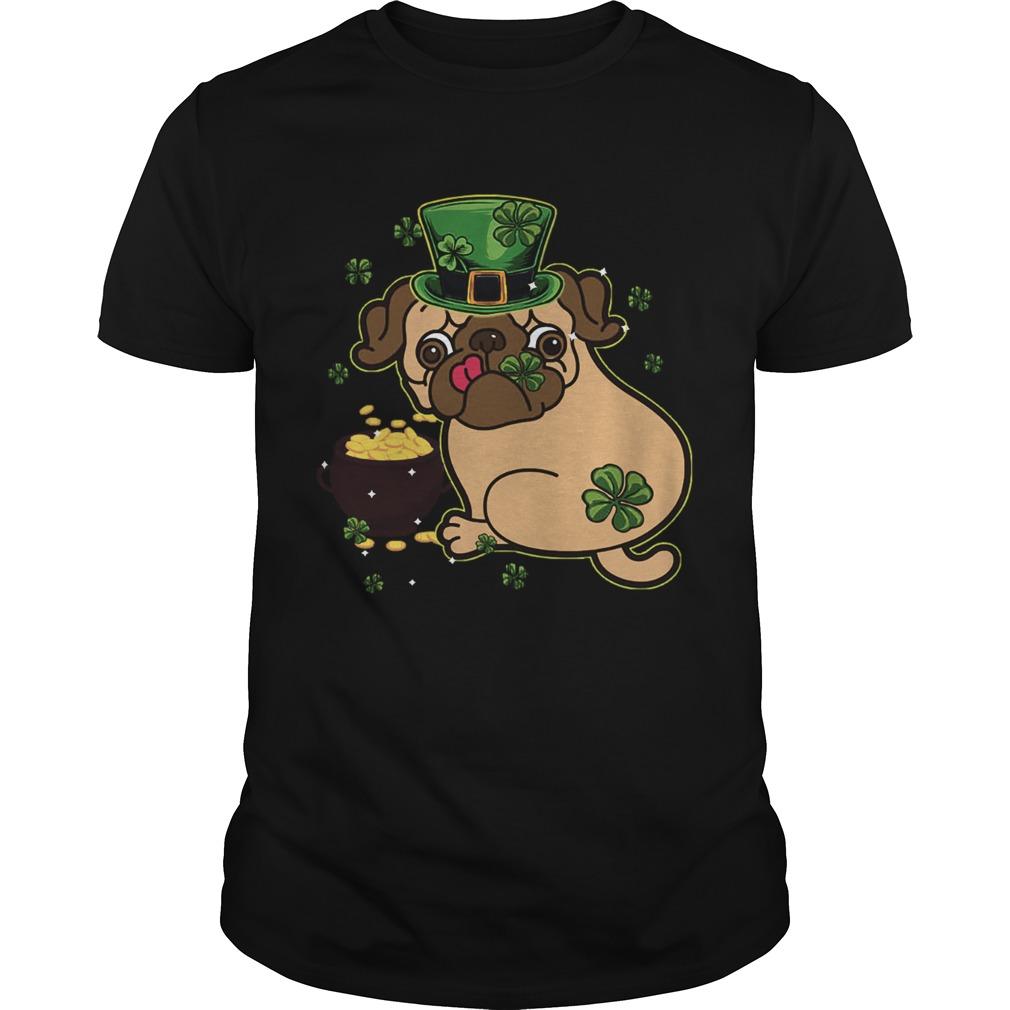 St Patricks Day Pug Dog  Unisex