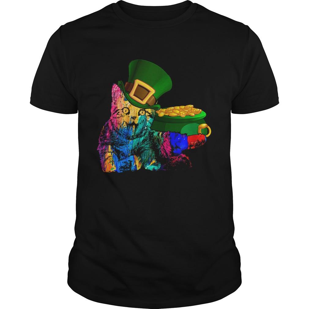 St Patricks day Shirt Cat St Patricks day  Unisex