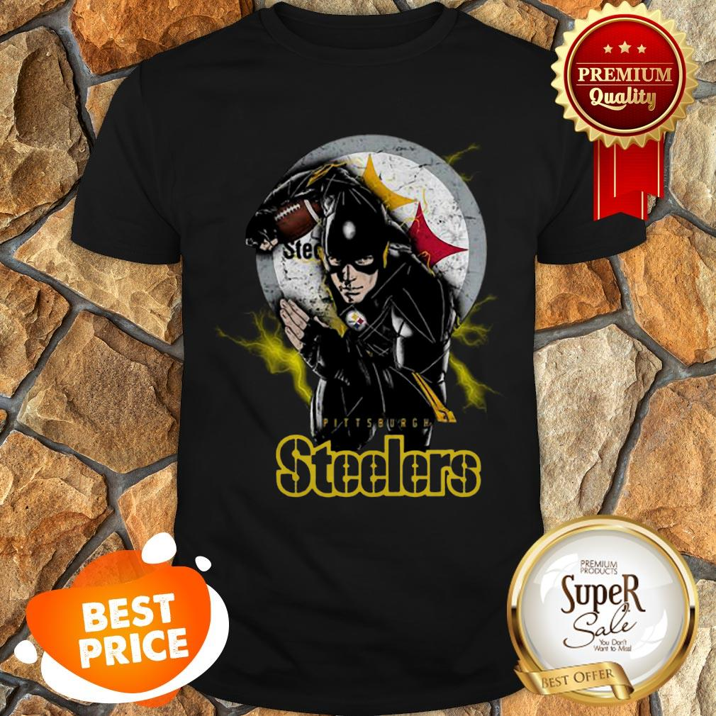 The Flash Mashup Pittsburgh Steelers Champions Shirt