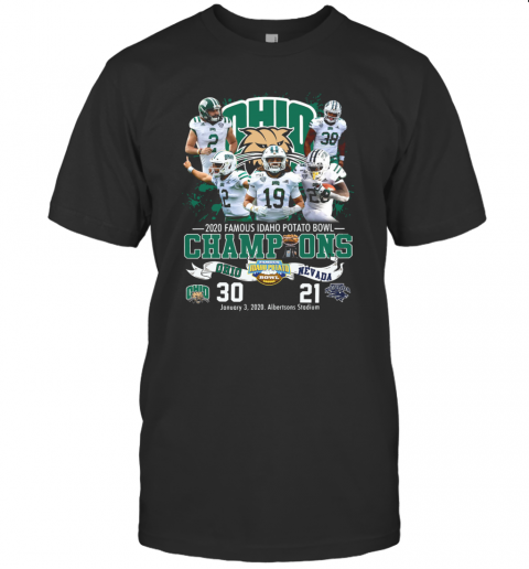 2020 Famous Idaho Potato Bowl Champions Ohio Vs Nevada T-Shirt Classic Men's T-shirt