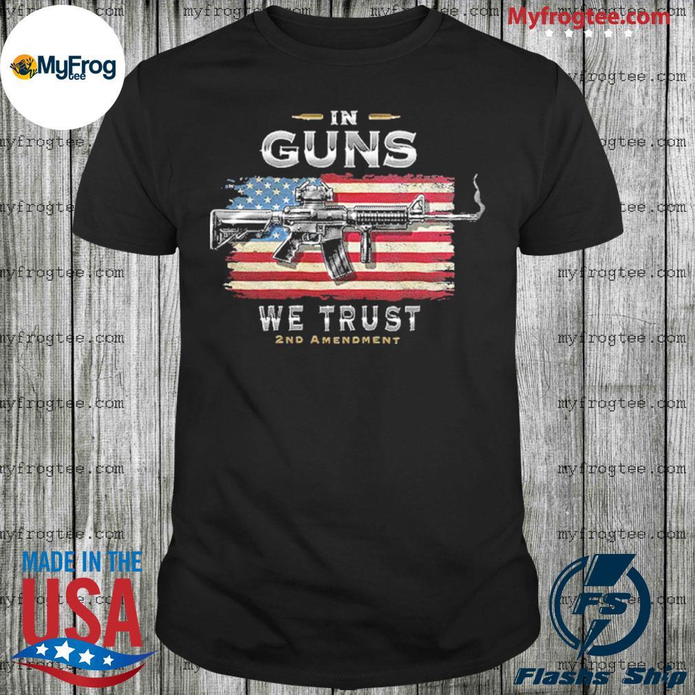 2nd amendment in guns we trust rn2457sw shirt