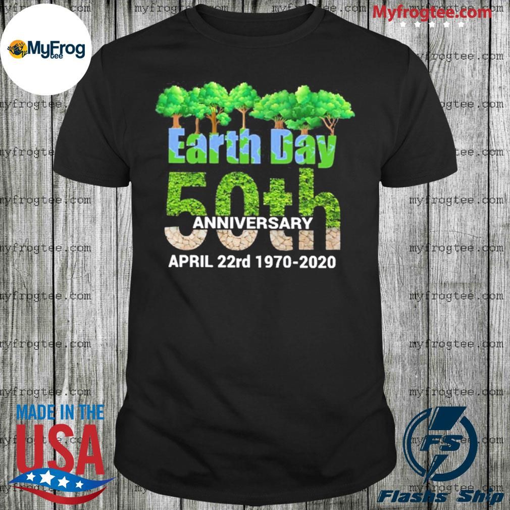 50th Anniversary Earth day 22nd April shirt