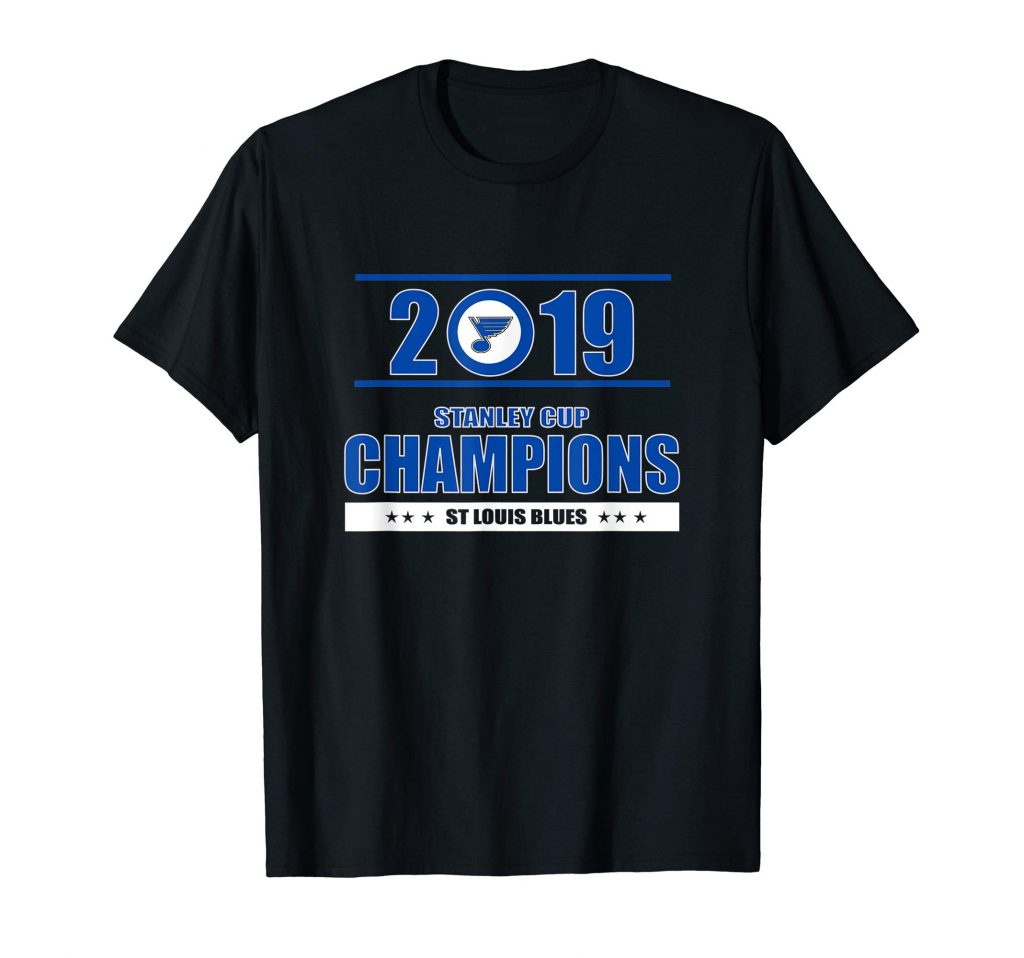 Stanley st-louis cup blues champions 2019 tee for fans