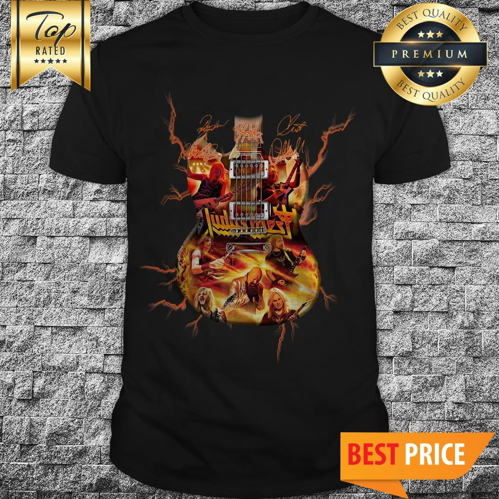 Official Judas Priest Tour 2018 Guitarist Signature Shirt