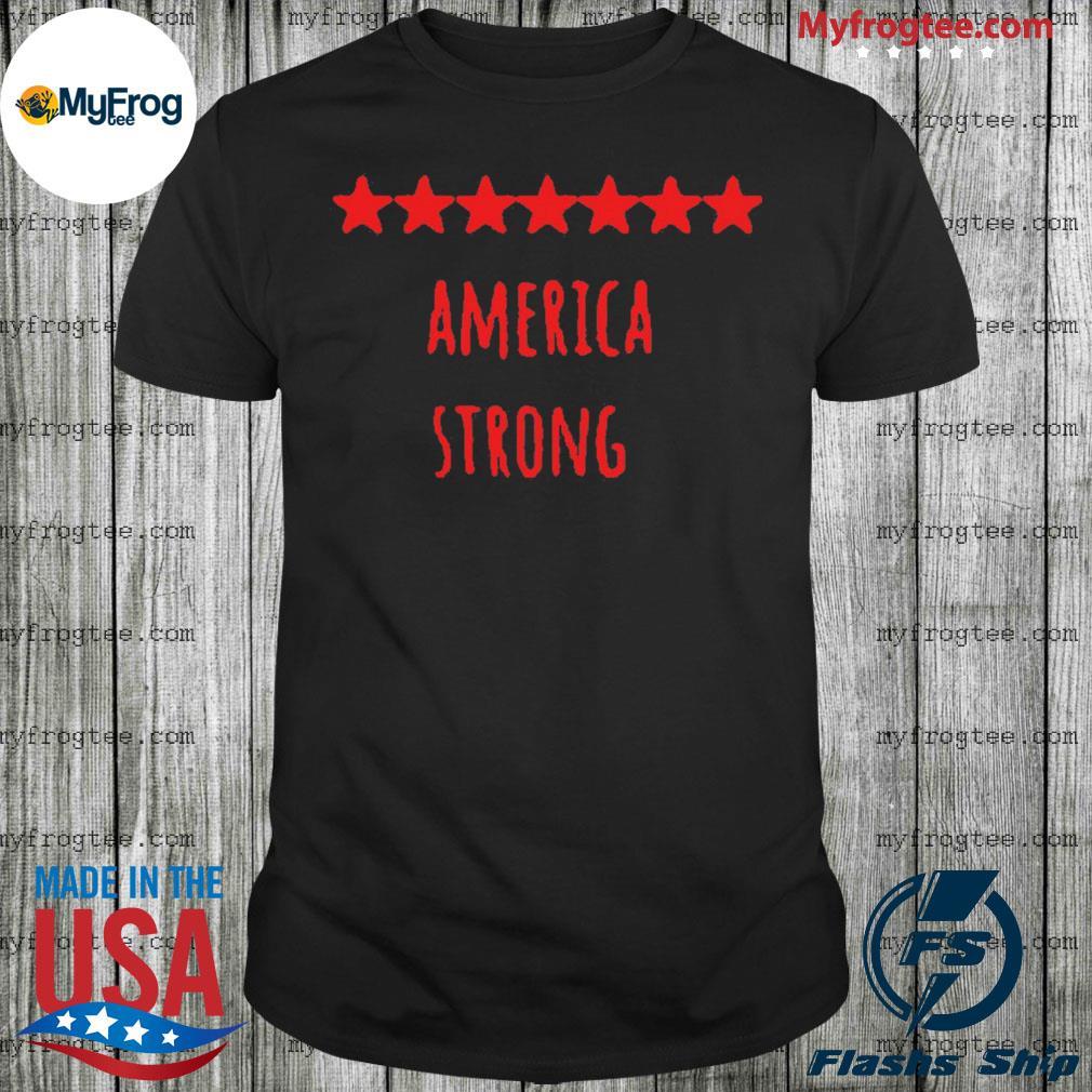America Strong Coronavirus Captain US Shirt