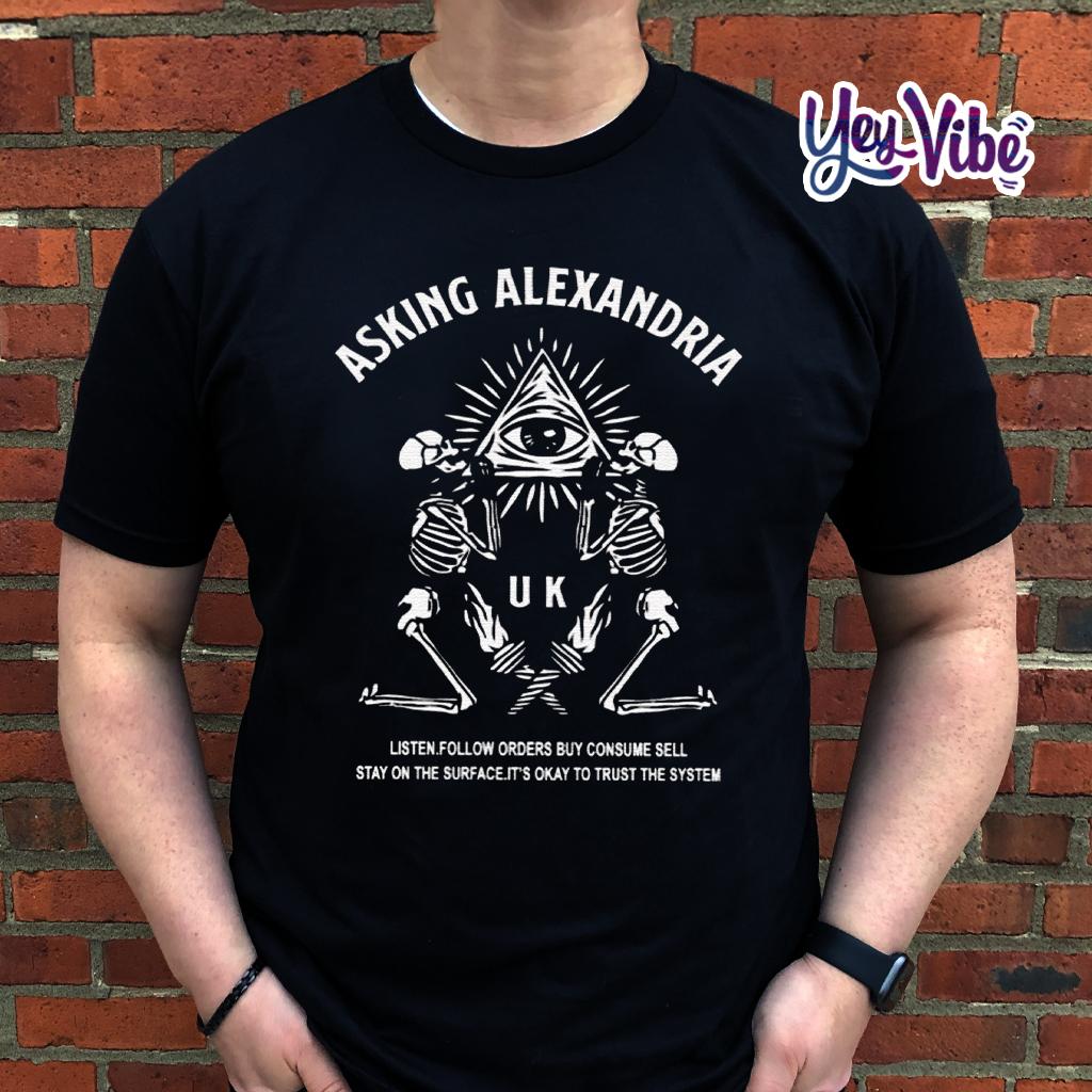 Asking Alexandria Trust The System T Shirt
