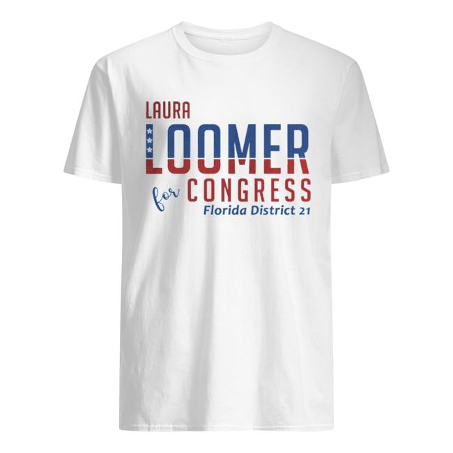 aura Loomer For Congress Florida District 21  Classic Men's T-shirt