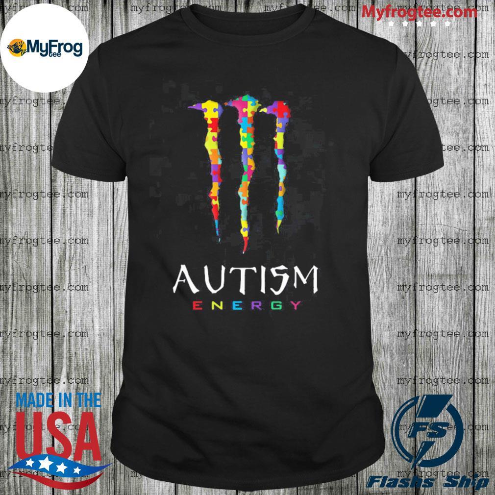 Autism Energy Monster Energy Shirt