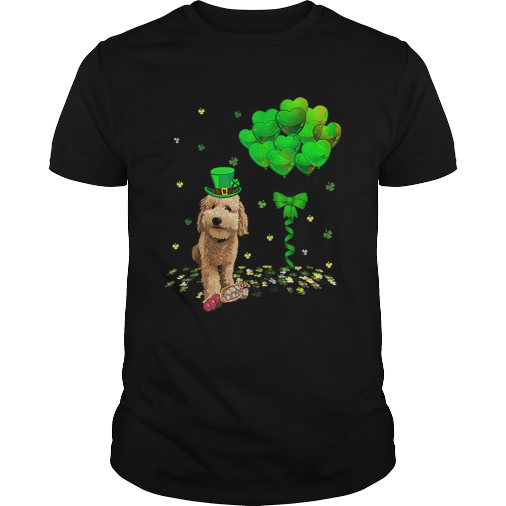 Beautiful Irish Golden Doodle Leprechaun Balloon St Patricks Day  Unisex