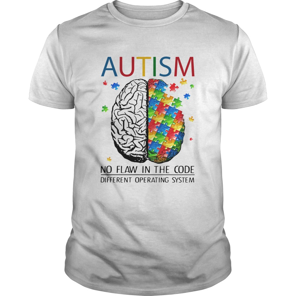 Brain Autism no flaw in the code different operating system  Unisex