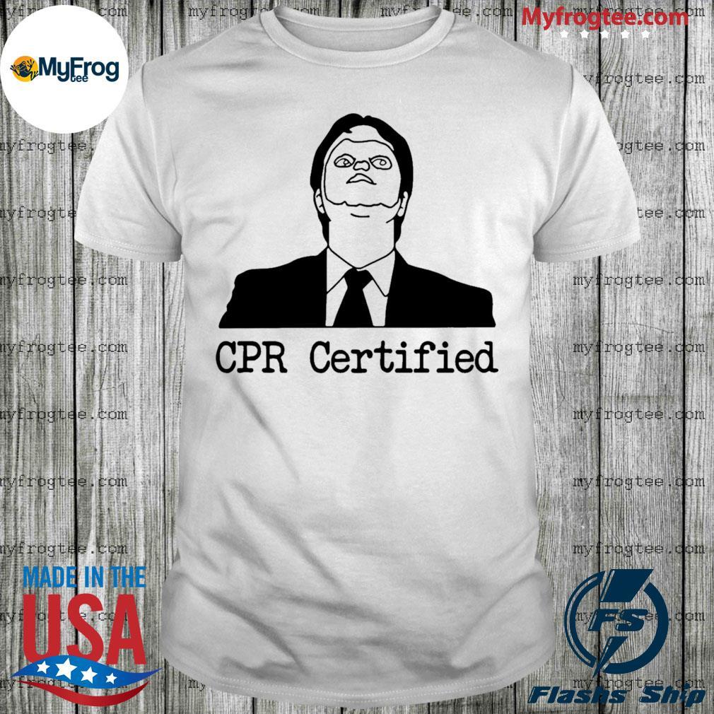 Certified Dwight Schrute Dummy Mask shirt