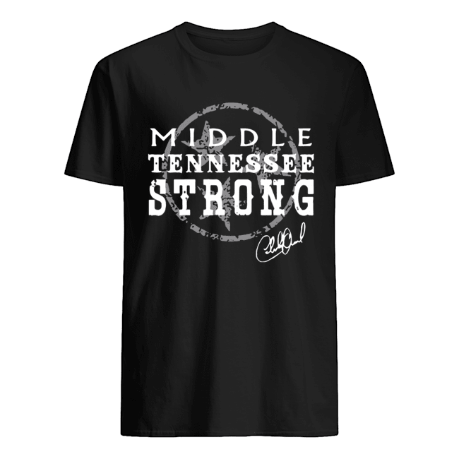 Charlie Daniels Middle Tennessee Strong  Classic Men's T-shirt