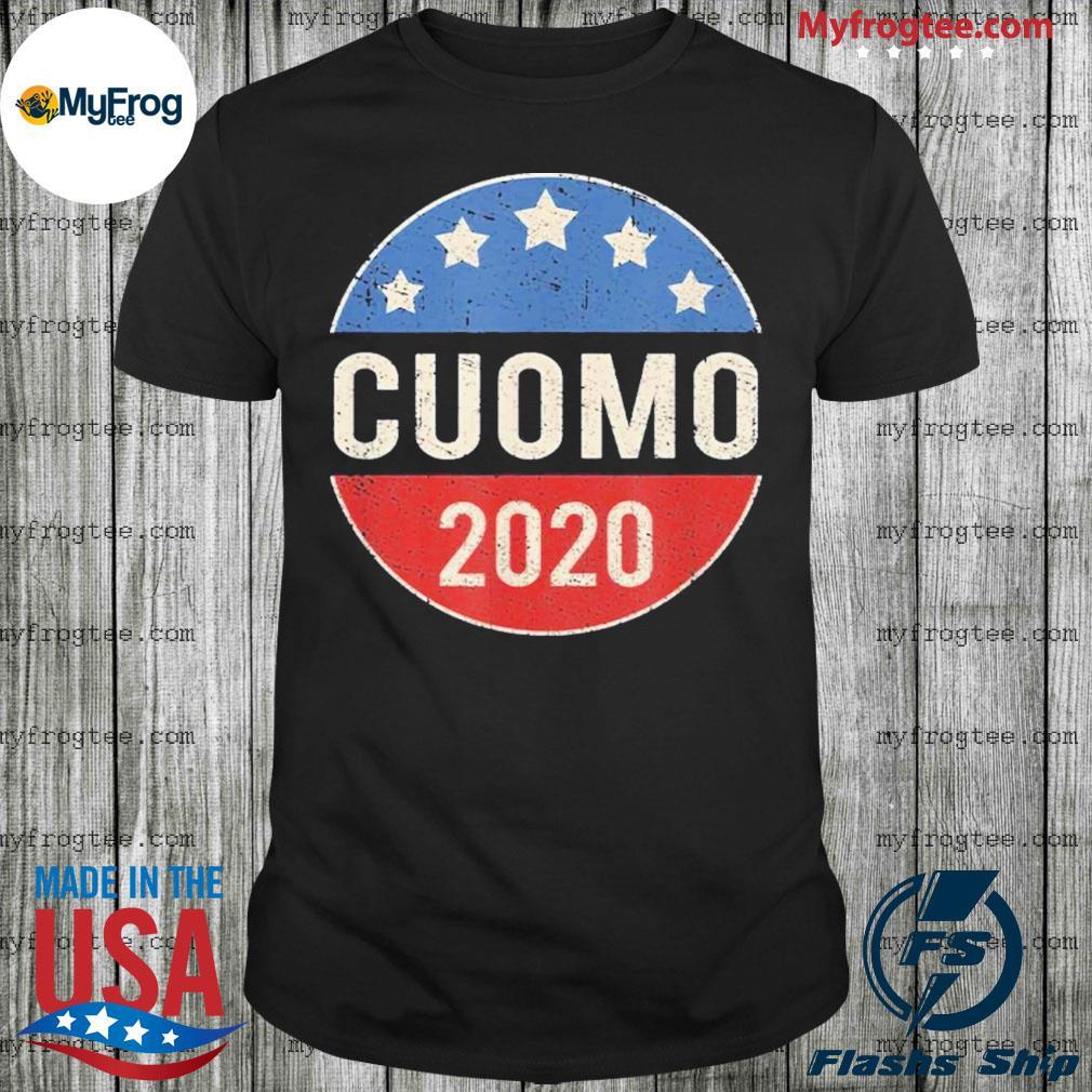 Cuomo for president 2020 nyc vintage retro election shirt