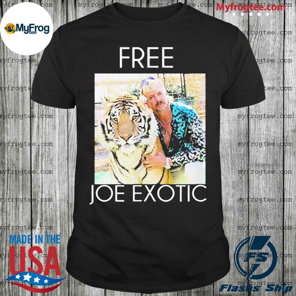 Free joe exotic tiger king premium shirt