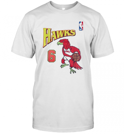 Future X Atlanta Hawks 6 Swingman Jersey T-Shirt Classic Men's T-shirt