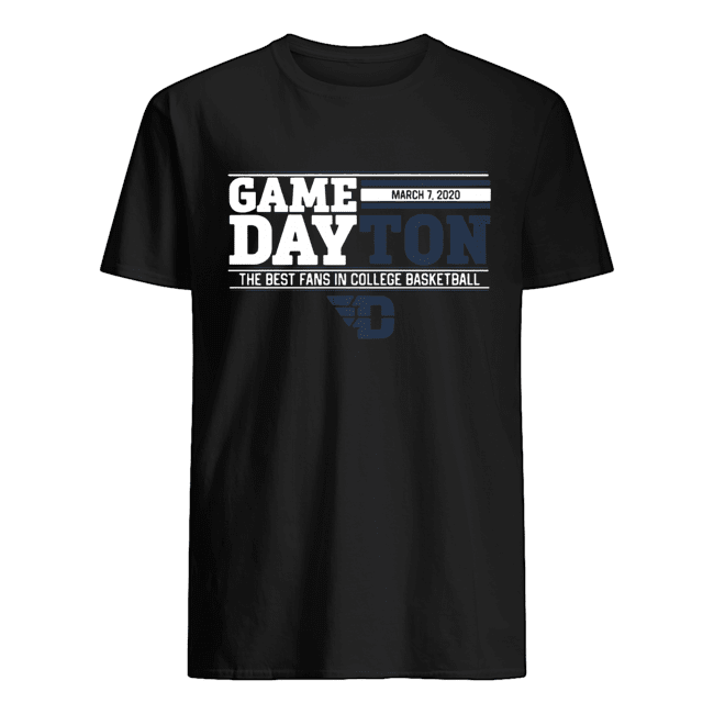 Game dayton the best fans in college basketball  Classic Men's T-shirt
