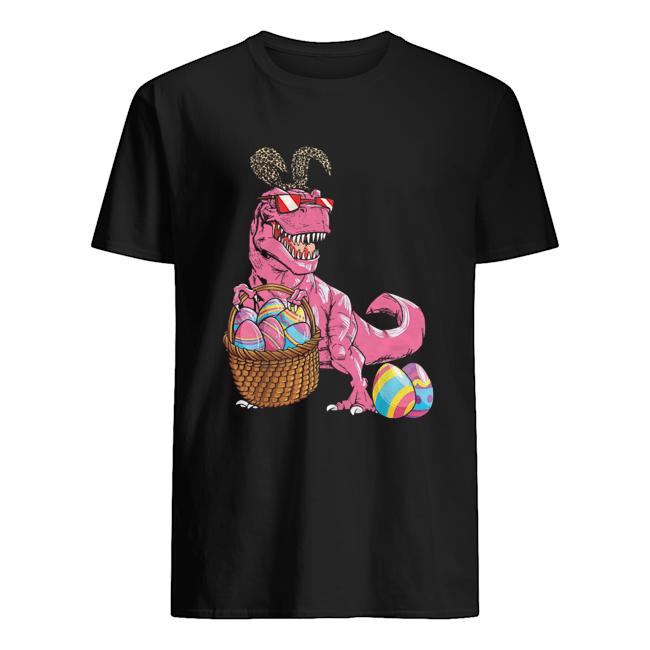 Happy easter Dinosaur  Classic Men's T-shirt