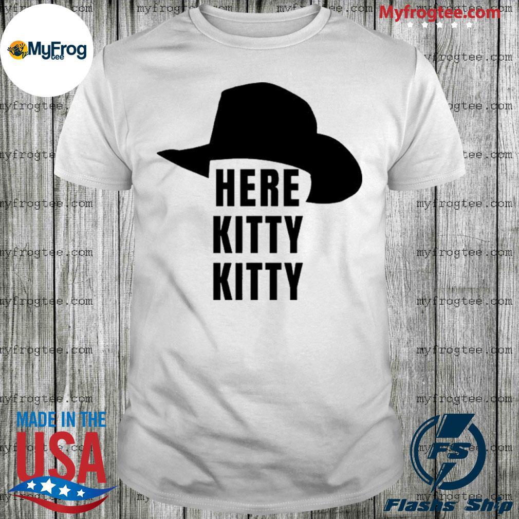 Here Kitty Kitt Joe Exotic Tiger King Shirt