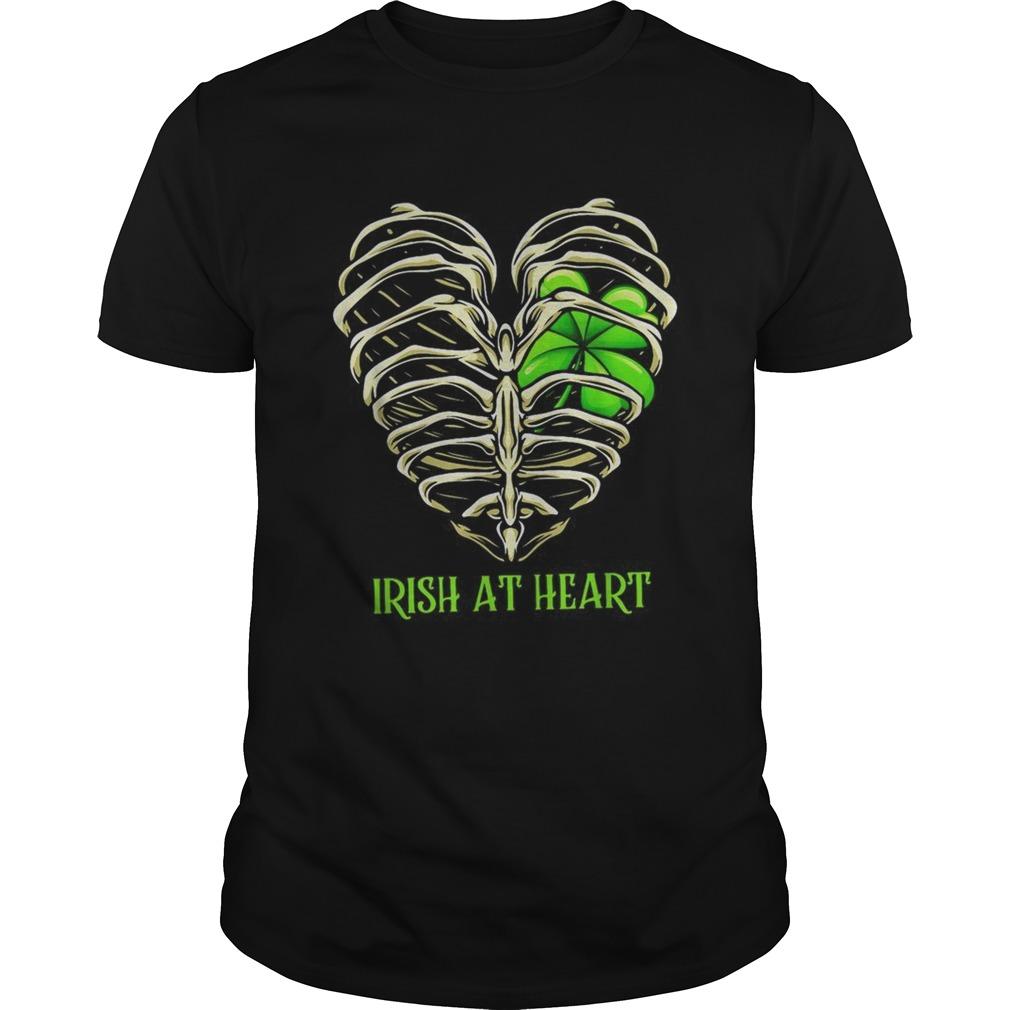 Irish at heart St Patricks Day  Unisex