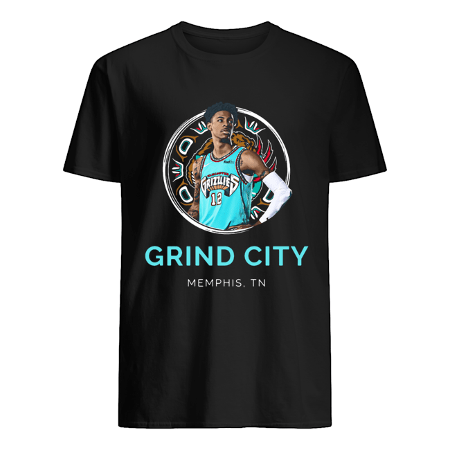 Ja Morant Grizzlies 'Grind City' Memphis TN  Classic Men's T-shirt