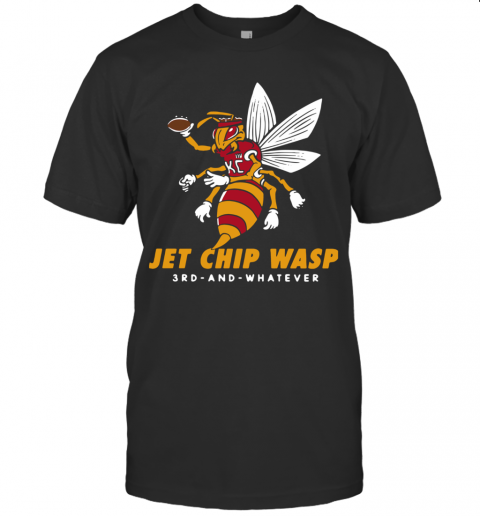 Kansas City Chiefs Jet Chip Wasp 3Rd And Whatever T-Shirt Classic Men's T-shirt