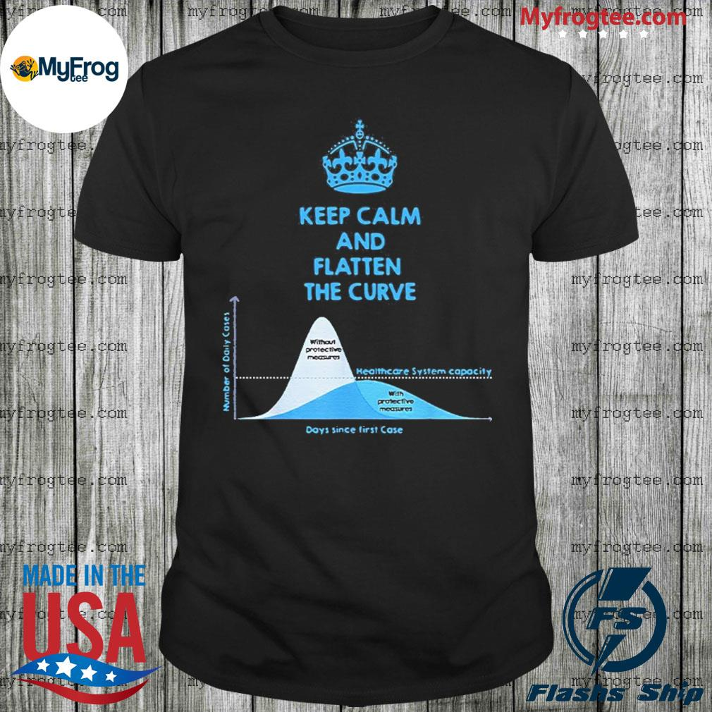 Keep Calm And Flatten The Curve Shirt