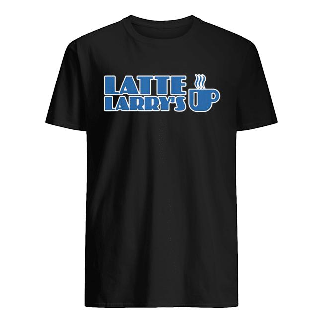 Latte Larry Latte Larry's  Classic Men's T-shirt