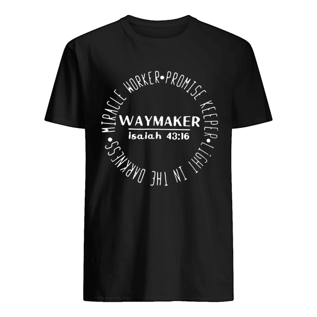 Miracle Worker Promise Keeper Waymaker  Classic Men's T-shirt