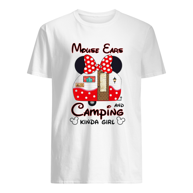 Mouse Ears Camping Kinda Girl  Classic Men's T-shirt