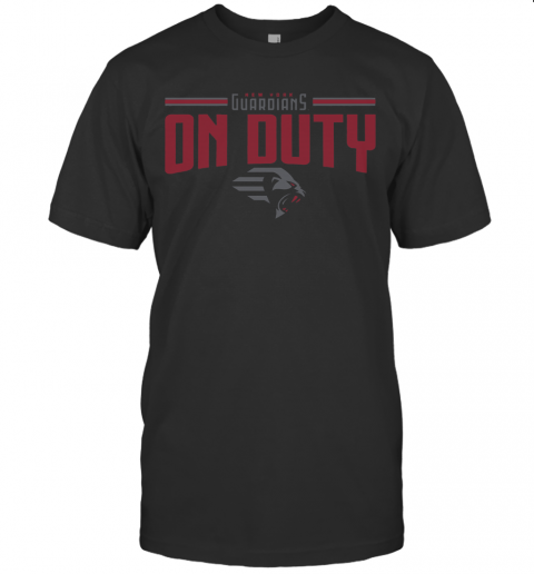 New York Guardians On Duty T-Shirt Classic Men's T-shirt