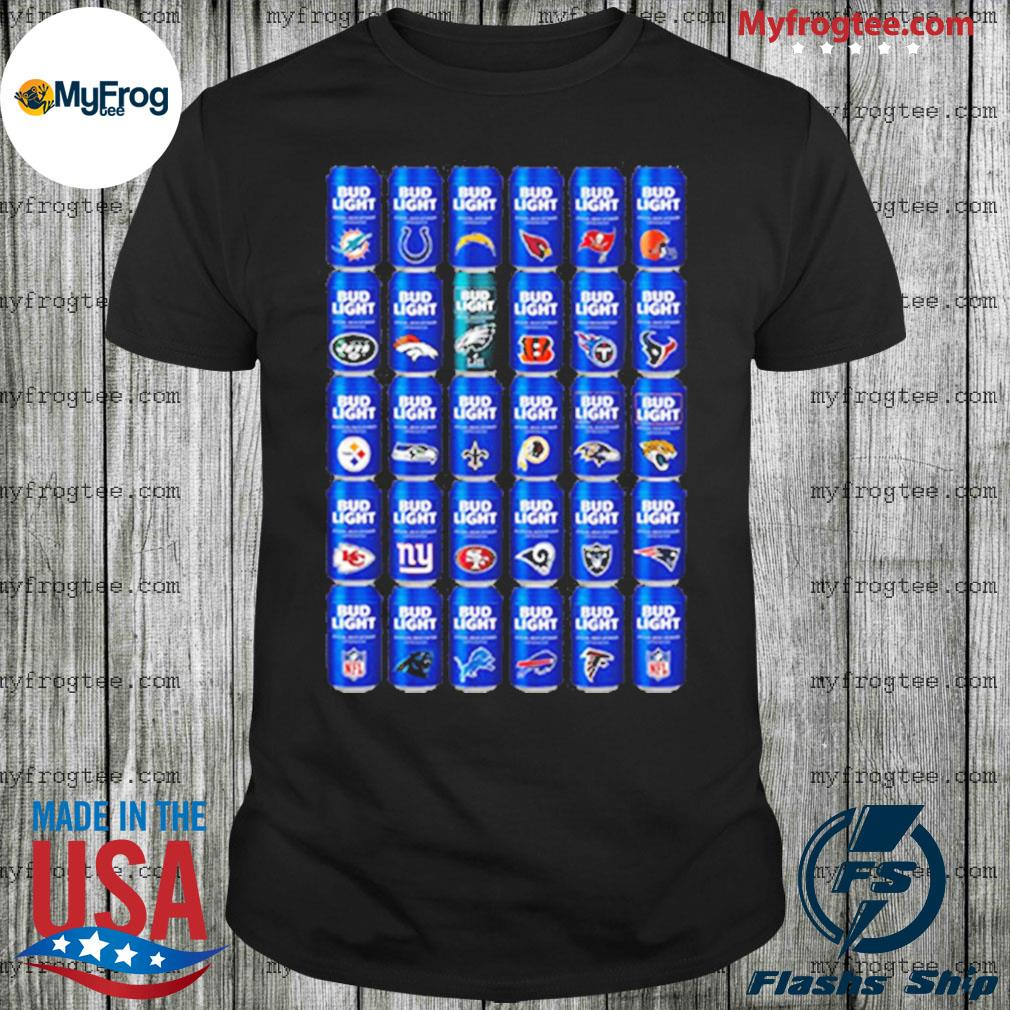 NFL Bud Light Logo shirt