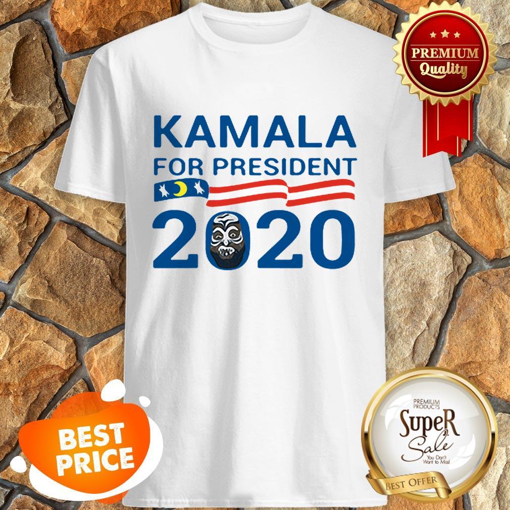 Nice Kamala For President 2020 American Flag Shirt