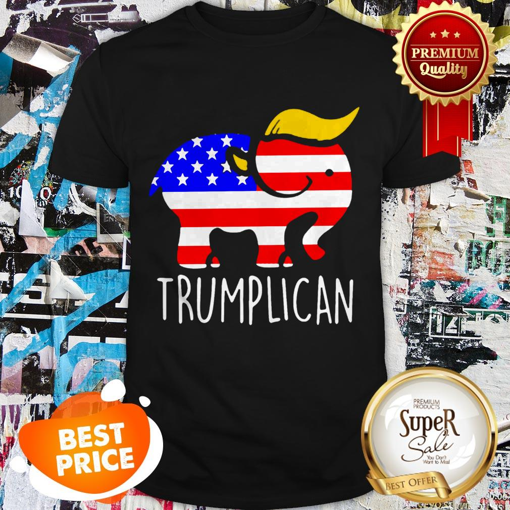 Nice Trumplican Elephant Trump 2020 Shirt