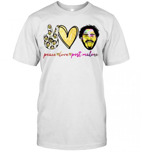 Peace Love Post Malone T-Shirt Classic Men's T-shirt