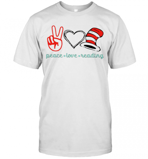 Piece Love Reading T-Shirt Classic Men's T-shirt
