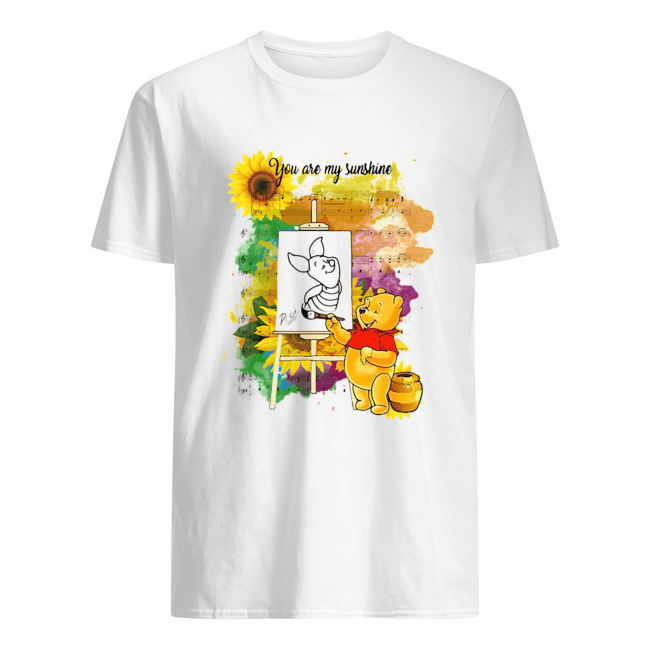 Pooh You Are My Sunshine Sheet Music  Classic Men's T-shirt