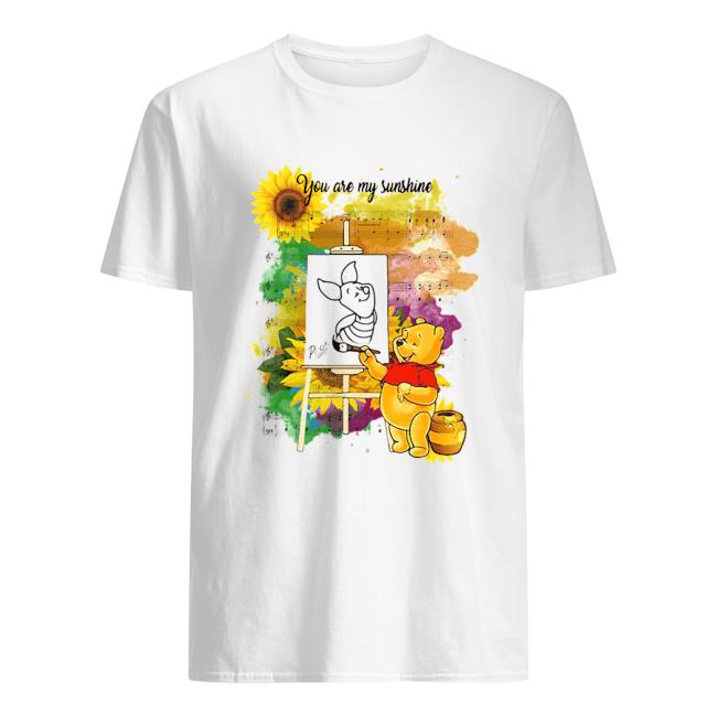 Pooh You Are My Sunshine Sheet Music  Classic Men's T-shirt