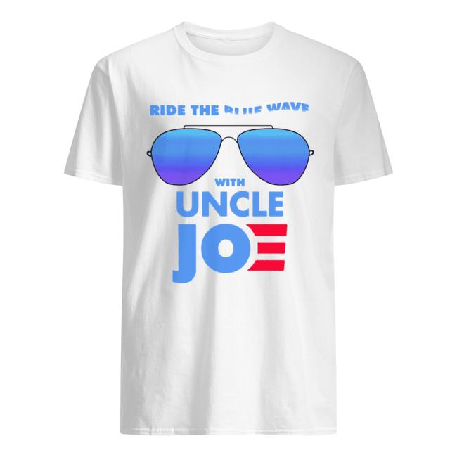 Ride the Blue Wave with Uncle Joe Biden  Classic Men's T-shirt