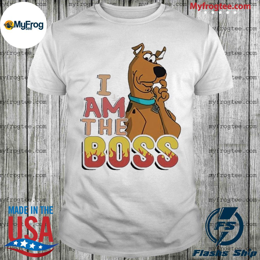 Scooby Doo I Am The Boss Shirt
