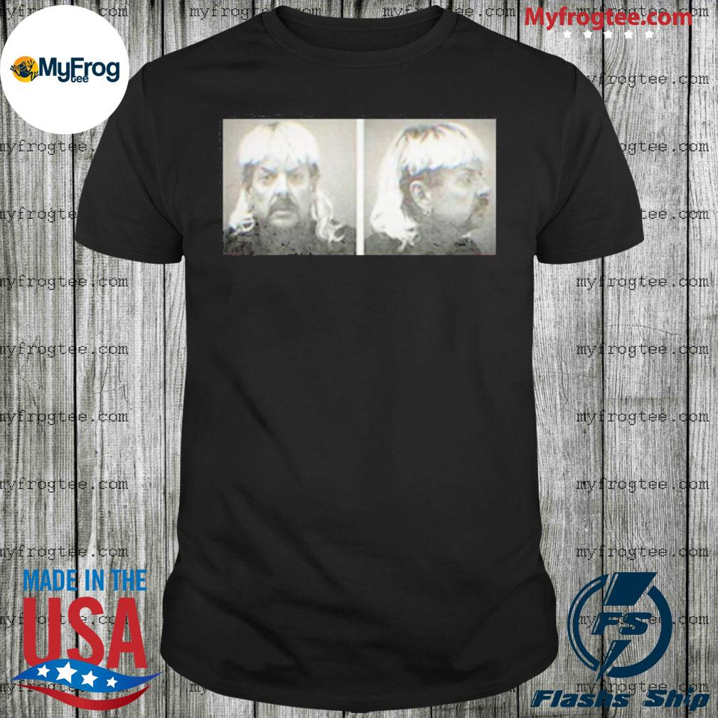 Tiger King Joe Exotic mugshot netflix series fan shirt