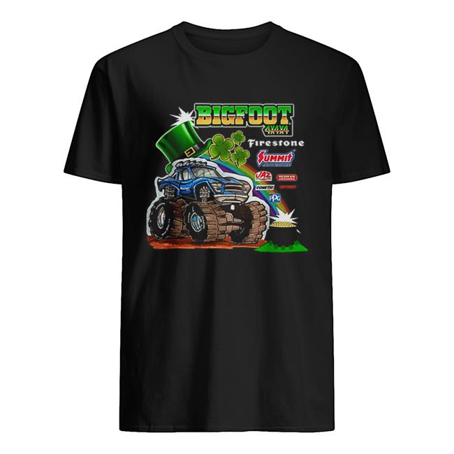 Top St. Patrick's Day Bigfoot  Classic Men's T-shirt
