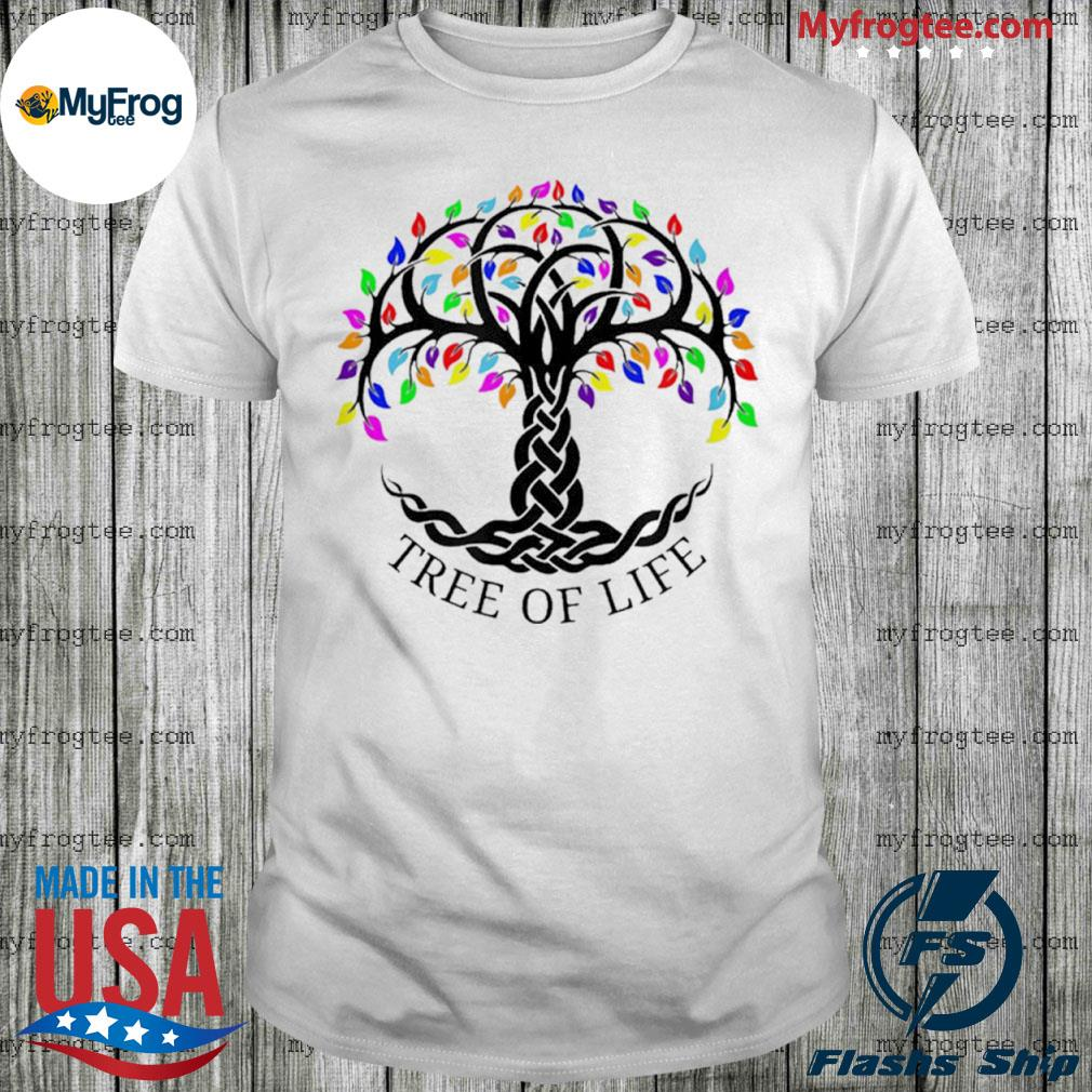 Tree Of Life Sacred Tree Astrology Mythology Religion Shirt