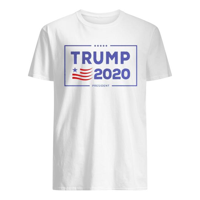 Trump 2020 president American  Classic Men's T-shirt