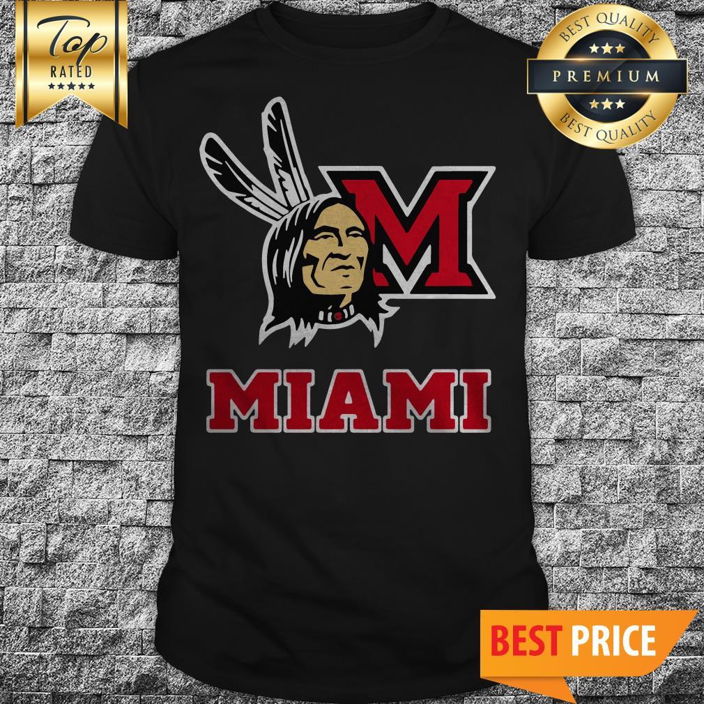 Washington Redskins and Miami Logo Sport Shirt