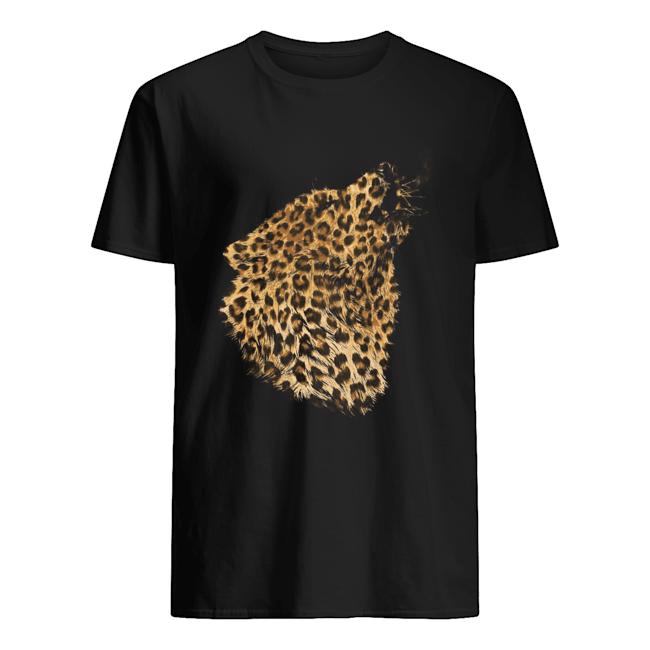 Wolf Leopard  Classic Men's T-shirt