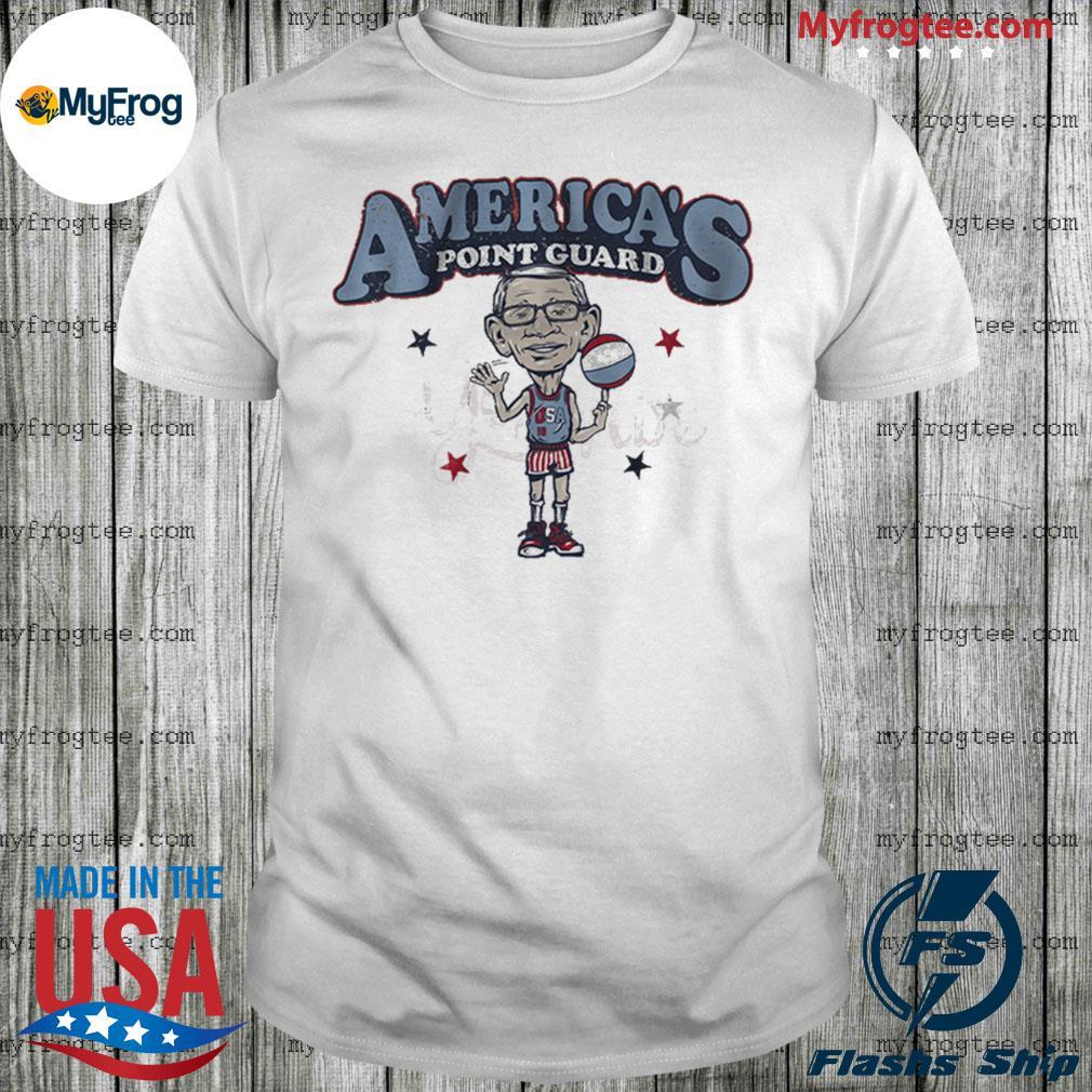 America's Point Guard shirt