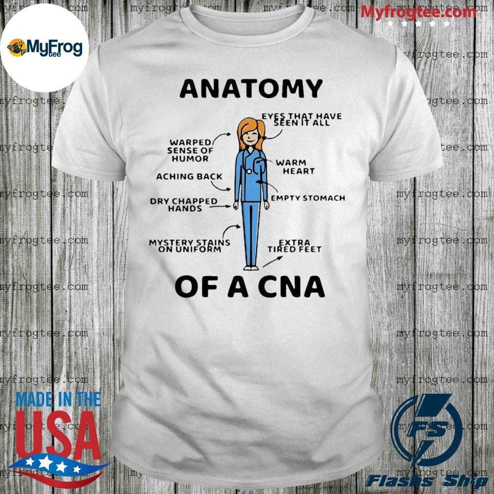 Anatomy Of A CNA Shirt