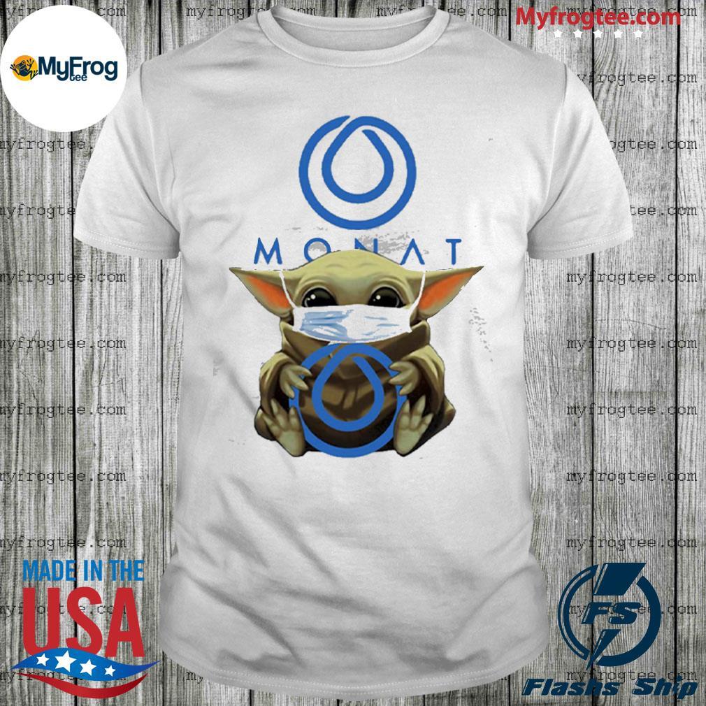 Baby yoda face mask hug monat global shirt