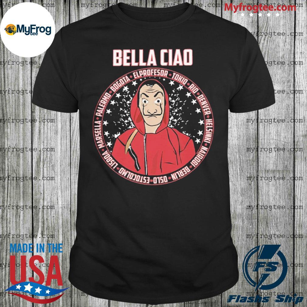 Bella Ciao El Profesor shirt