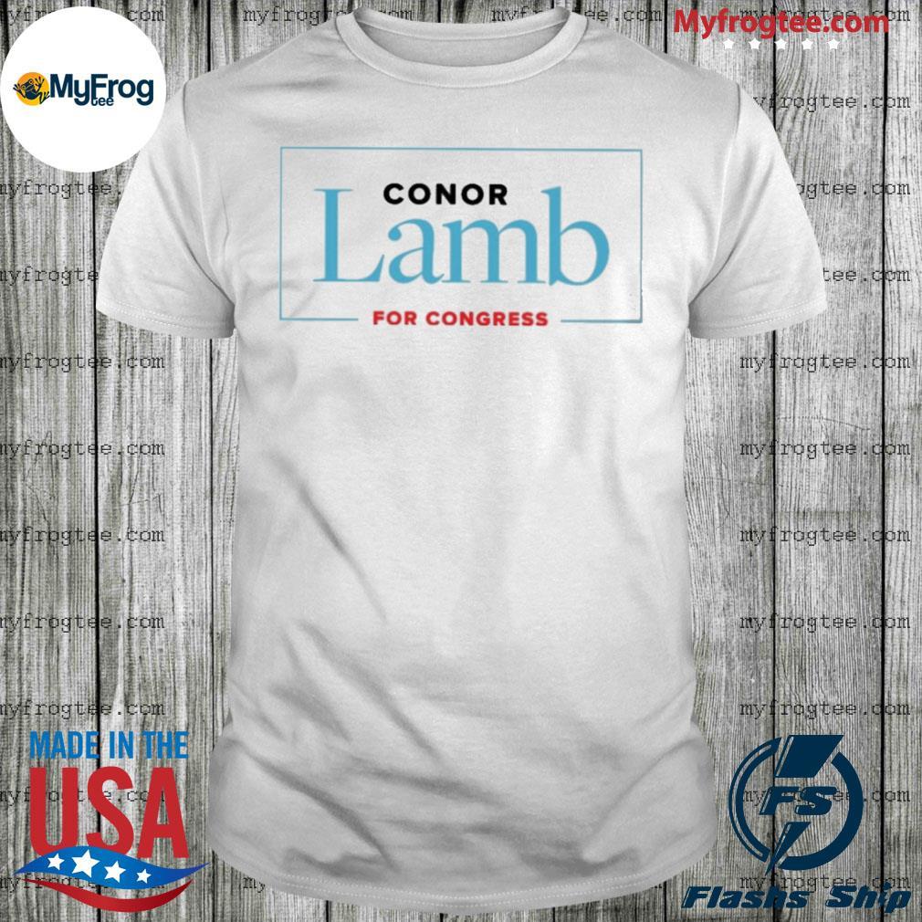 Conor Lamb For Congress shirt